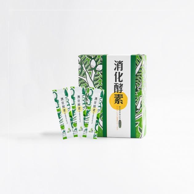 萃綠檸檬消化酵素</br>60包/盒 1